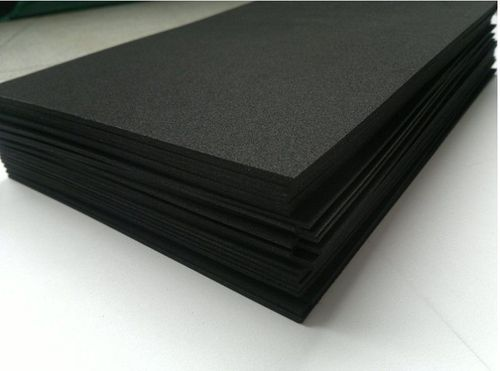 Plastazote Black H 100x100 3mm