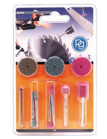 Kit 10 Accessori Smerigliatura