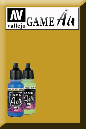 GAME AIR POLISHED GOLD 72755