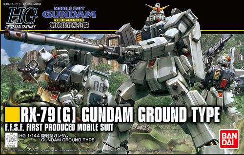 HG GUNDAM GROUND TYPE 1/144