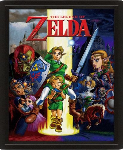 LEGEND OF ZELDA 3D FRAME