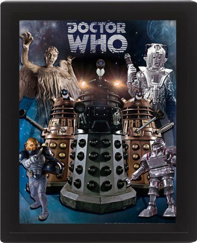 DOCTOR WHO  3D FRAME