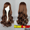 Curly wig 80 cm - Bark curly