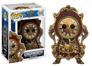 POP Beauty And The Beast - Cogsworth 245