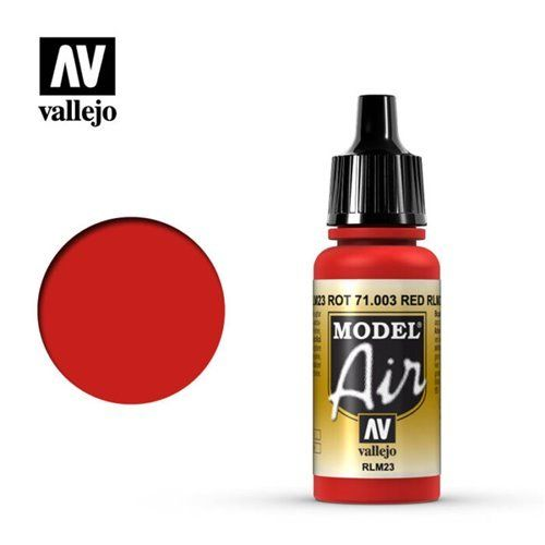71.003 Vallejo Model Air: Red RLM23 [17ml]