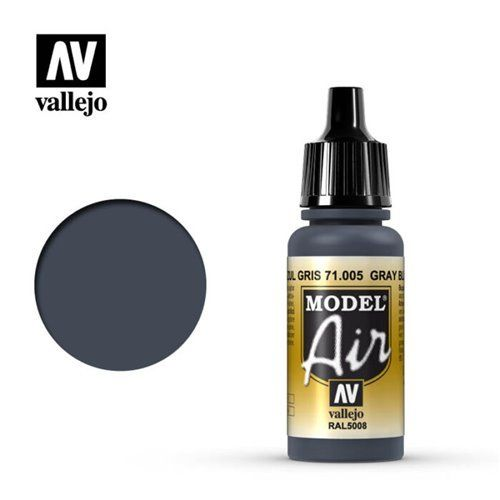 71.005 Vallejo Model Air: Grey Blue RAL5008 [17ml]