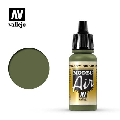 71.006 Vallejo Model Air: Light Green Chromate [17ml]