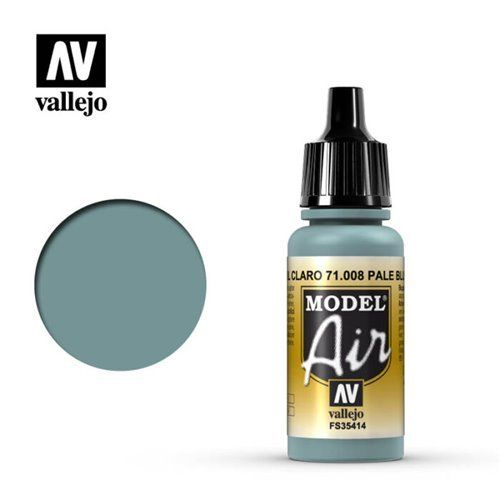 71.008 Vallejo Model Air: Pale Blue FS35414 [17ml]