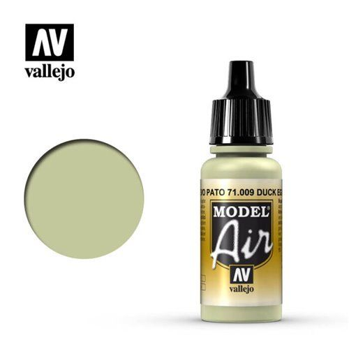"71.009 Vallejo Model Air: Eau de Nil ""D.E.Green"" BS216 [17ml]"