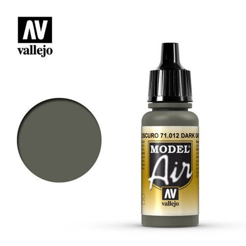 71.012 Vallejo Model Air: Dark Green [17ml]