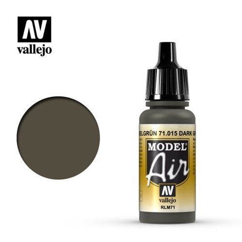 71.015 Vallejo Model Air: Dark Green RLM71 [17ml]