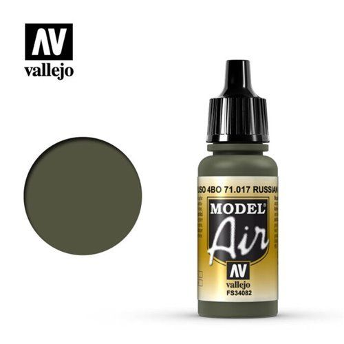 71.017 Vallejo Model Air: Russian Green 4BO FS34082 [17ml]