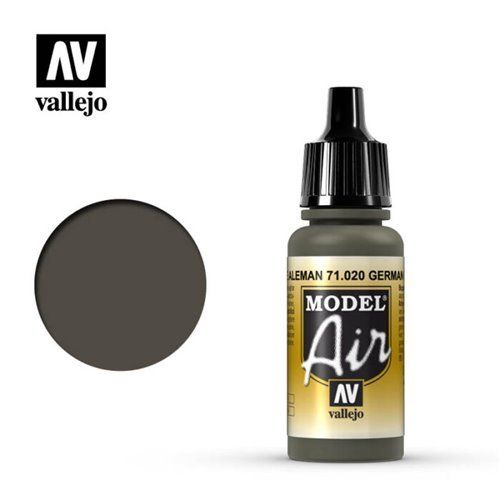71.020 Vallejo Model Air: Green Brown [17ml]