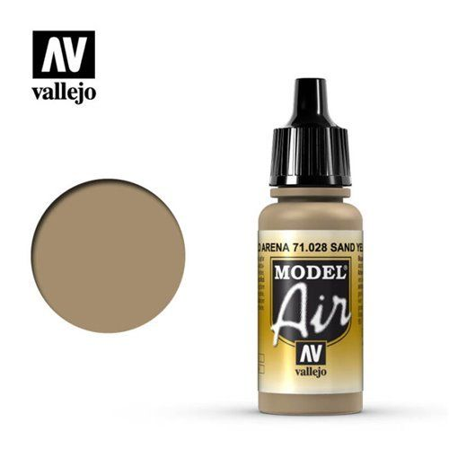71.028 Vallejo Model Air: Sand Yellow [17ml]