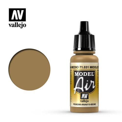 71.031 Vallejo Model Air: MiddleStone FS30266 ANA615 BS362 [17ml]