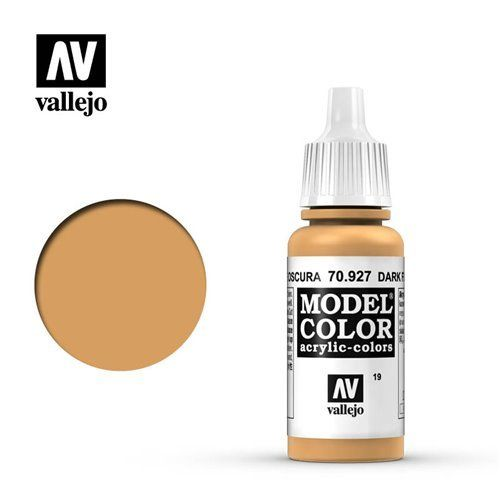 019 70.927 Vallejo Model Color: Dark Flesh (17ml)