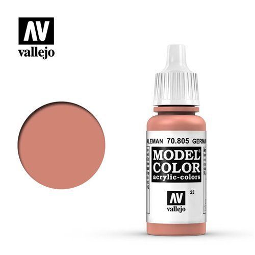 023 70.805 Vallejo Model Color: German Orange (17ml)