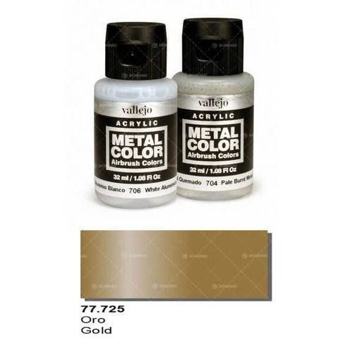 77.725 Vallejo Metal Colors: Gold (32ml)