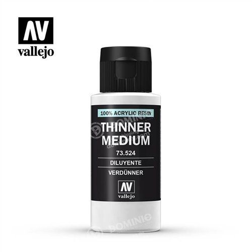 73.524 Vallejo Thinner Medium (60ml)