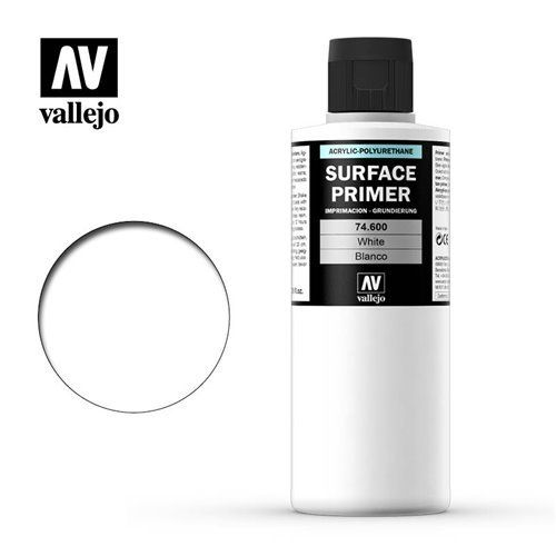 74.600 Vallejo Primer: White ACR-POL (200ml)
