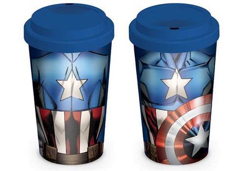 Travel Mug Marvel Captain America
