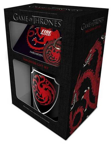 Mug and keychain GoT Stark & Targaryen