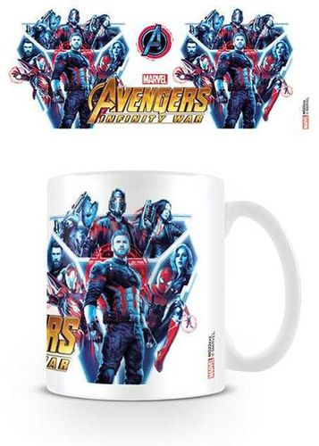 Tazza Infinity War Heroes United