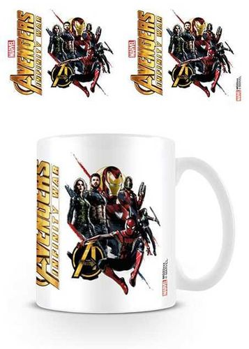 Mug Infinity War Ready for Action