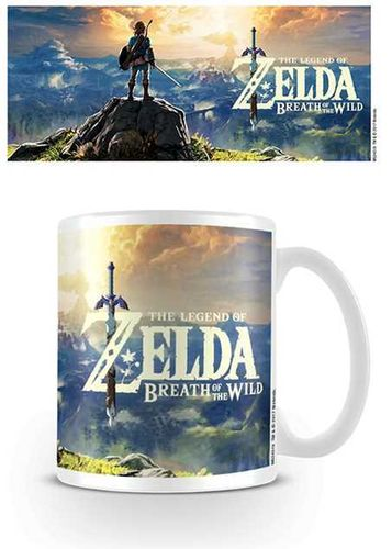 Mug Zelda Breath of the Light Sunset